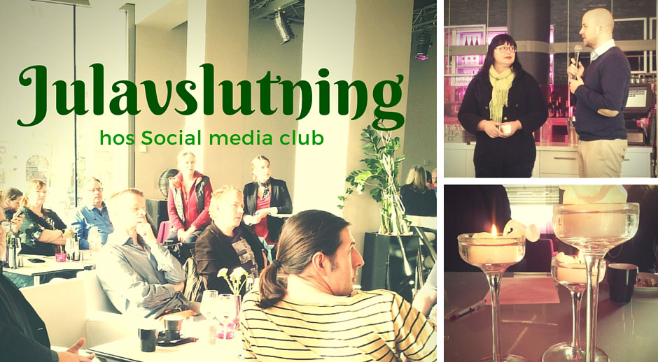 Julavslutning hos social media club